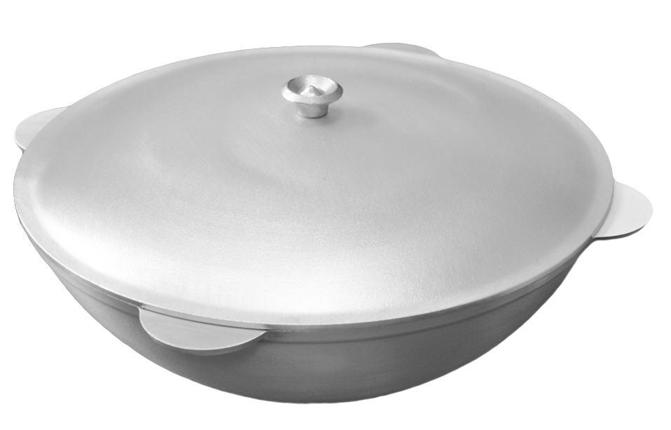 Buy Tatar cauldron of aluminum 12 l.