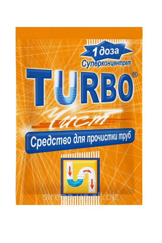 Купить Гранулы для прочистки канализационных труб Turbo 50 гр