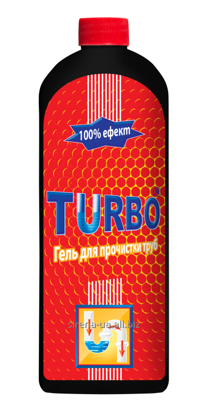 Buy Gel for clearing of sewers of Turbo of 500 ml
