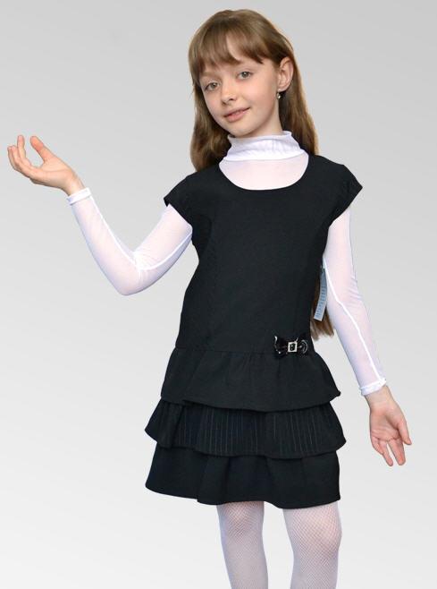 Школьная блузка для девочки 30