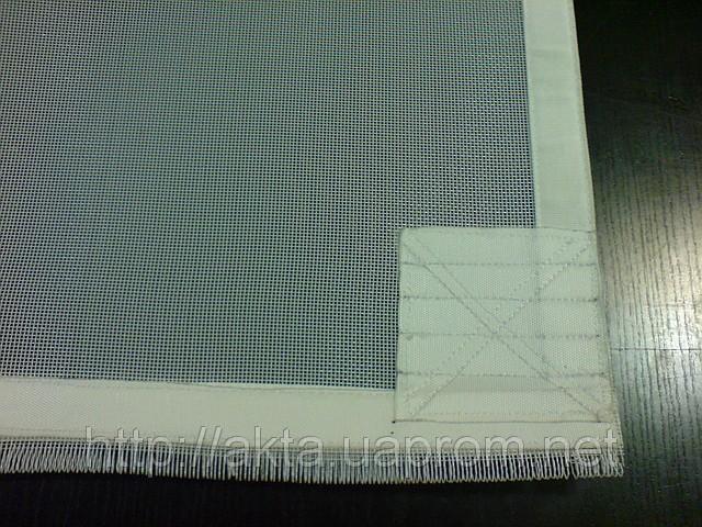 Купить Сетка PES 1000/44 для сушки макарон ленточных сушках, толщина 1мм, обшитая с раземным швом