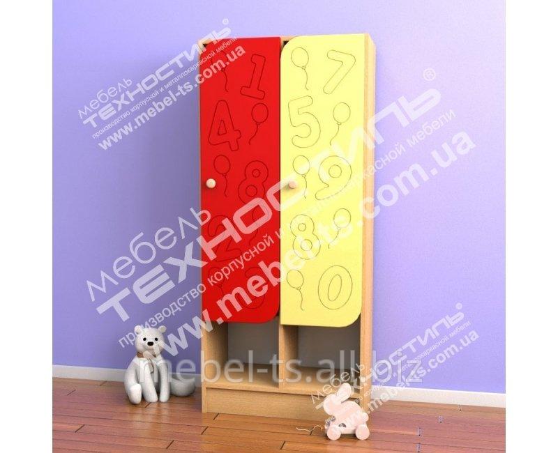 Шкаф двухсекционный для раздевалки