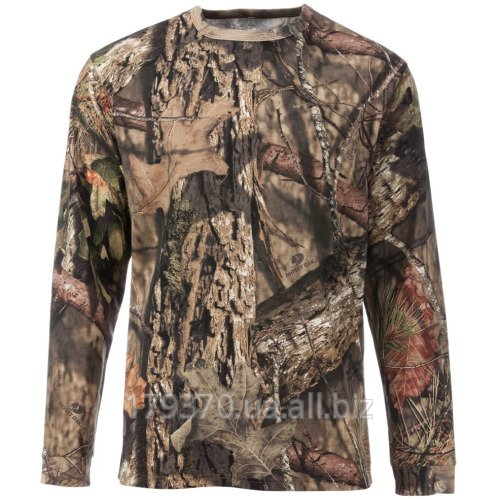 Футболка для охоты с длинным рукавом Cabela's Men's Hunting Zone Long-Sleeve Camo Tee Shirt