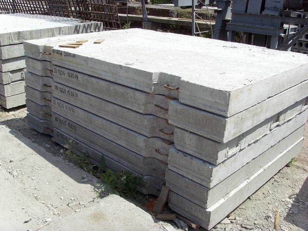 бетонные и железобетонные блоки