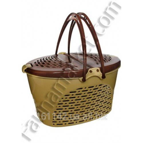 Buy Basket plastic average for cats and little dogs