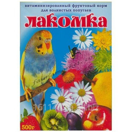 Buy Forage Wim Lakomka, fruit for wavy popugaychik of 500 g