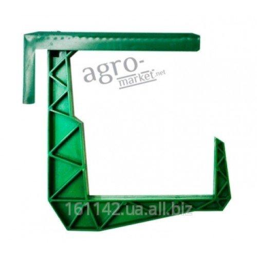 Купить Крепления для подвески балконного ящика Зеленые 2 шт