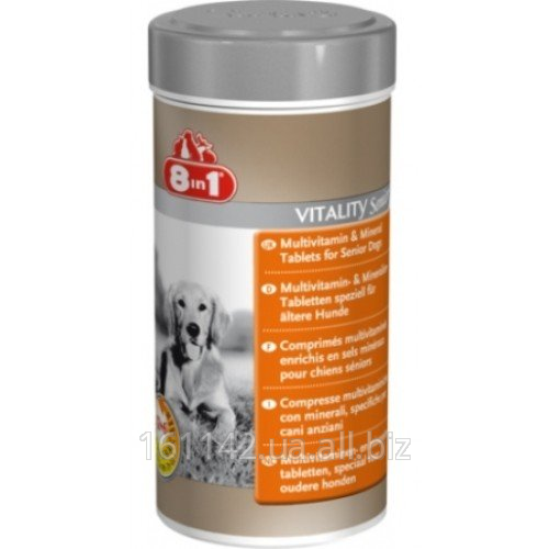 Buy Multivitamins for the aging dogs 70 tab 8in1 Vitality Senior