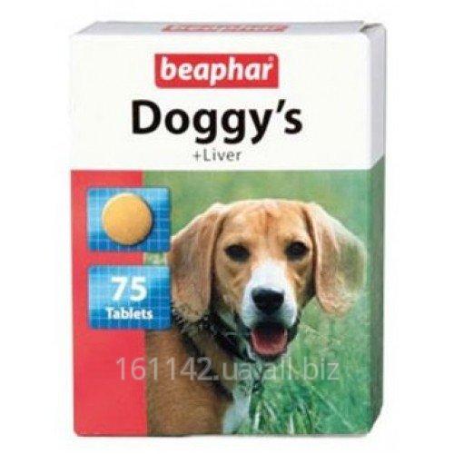 Купить Витамины с ливером 75 таб Beaphar Doggy's