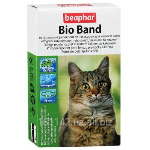 Купить Био ошейник для кошек 35 см Beaphar