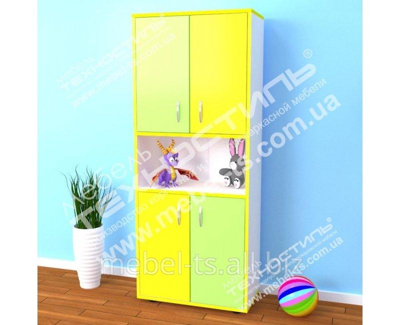 Шкаф детский М-152 ЦВЕТ