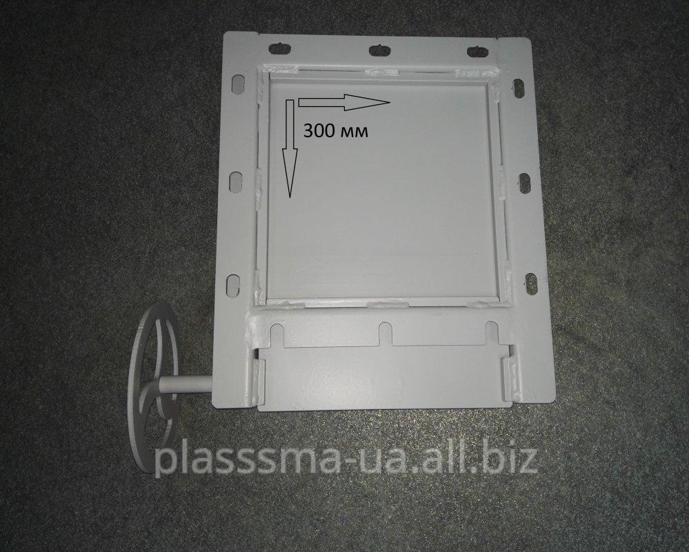 Slide Gate, Manual, 300x300