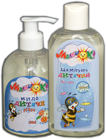 Шампунь из детского мыла своими руками