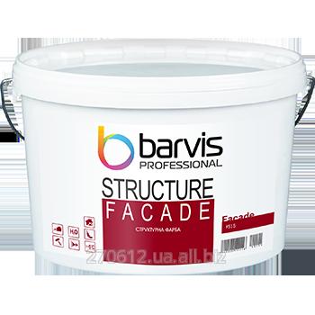 Структурная краска для внутренних и наружных работ Facade Structure 10 л