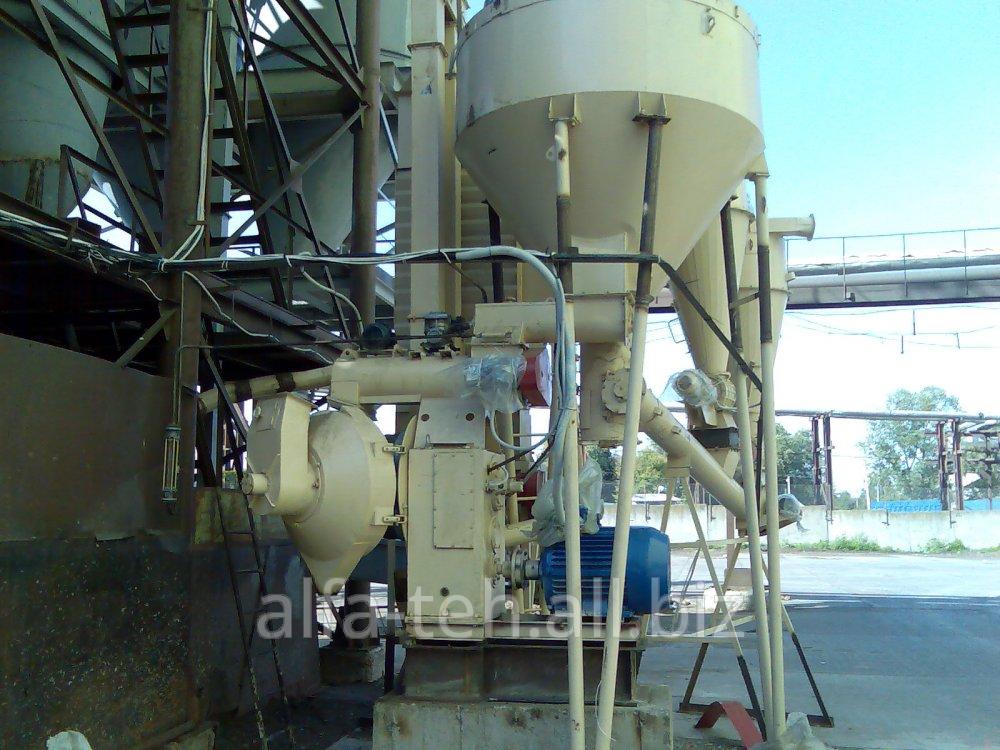 Установка производства пеллет, гранул. Блок грануляции на базе ОГМ-1,5