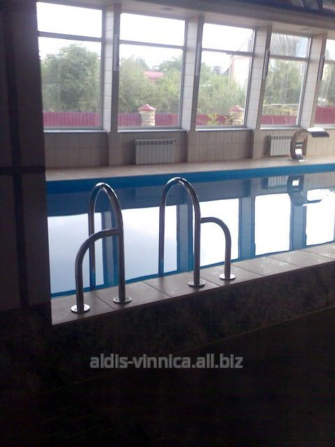 Лестницы для бассейнов купить в Москве, каталог цен