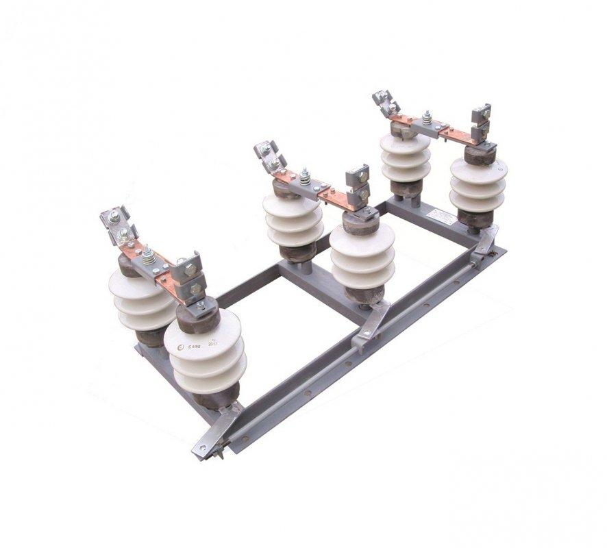 Купить Разъединители переменного тока напряжением 10кВ РЛД(З)-10Б/400-У1