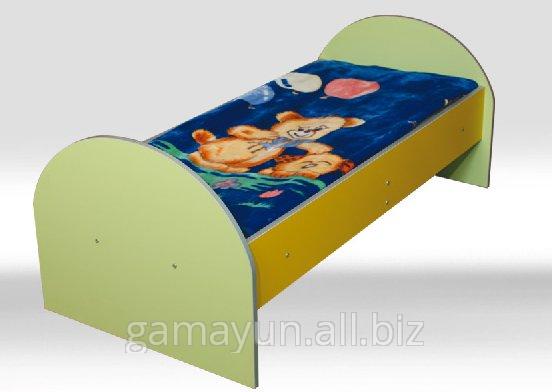 Детская кровать с закругленными спинками, арт. 001-00252