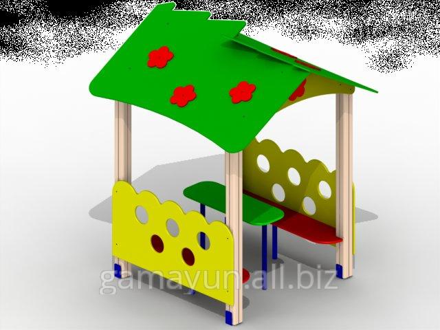 Детский домик Карапуз, арт. 005-00521