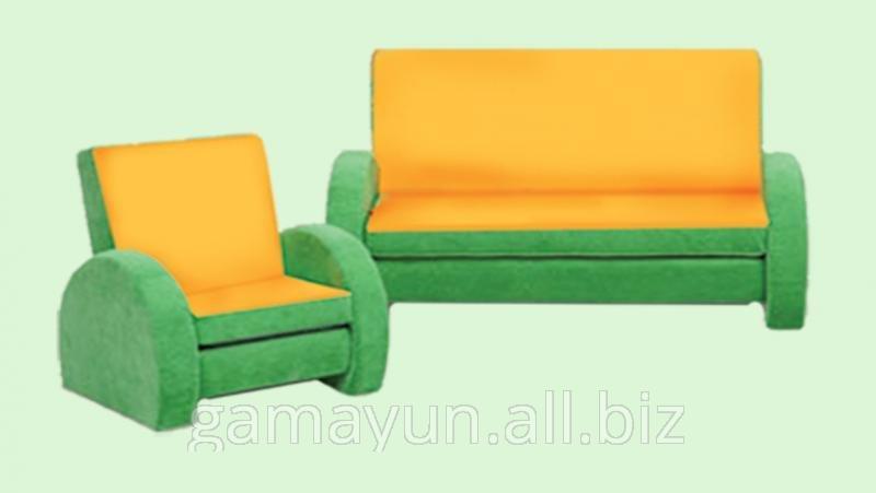Диван и кресло Мишутка, арт. 004-00820