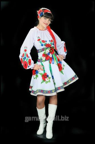 женский украинский костюм картинка