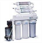 Система обратного осмоса Leader RO-7 6 bio pump фильтр для воды Лидер с минерализатором, биокерамическим структуризатором и насосом