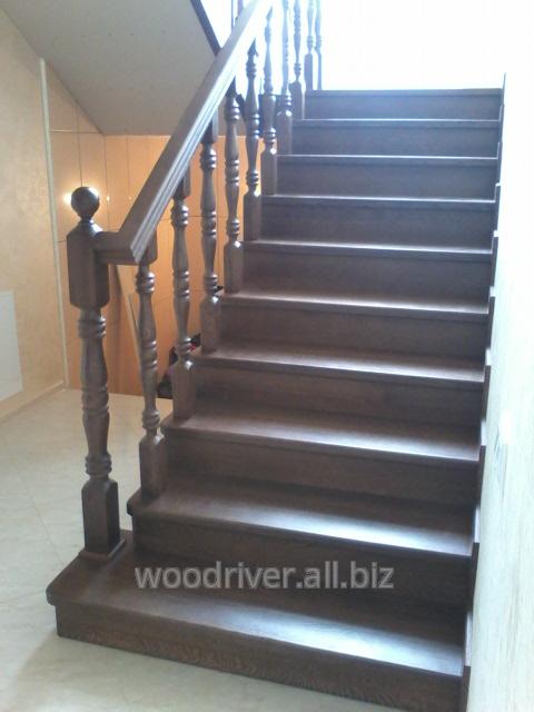 Лестницы винтовые дубовые