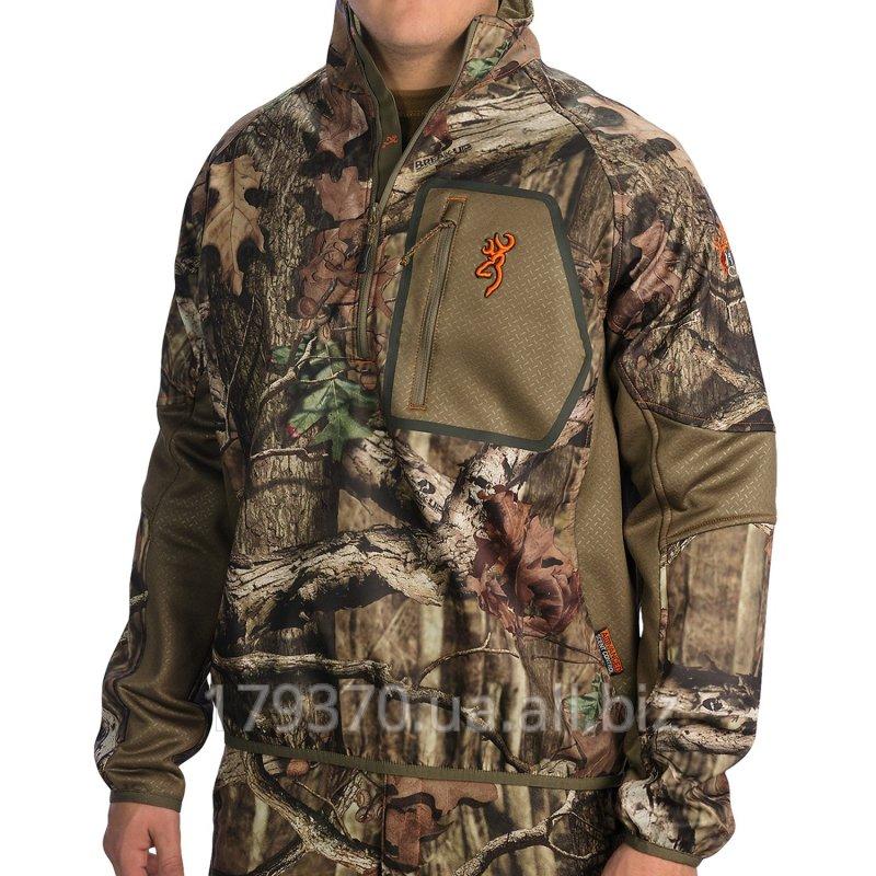 Пуловер для охоты Browning Hells Canyon Ultra-Lite Jacket - Zip Neck