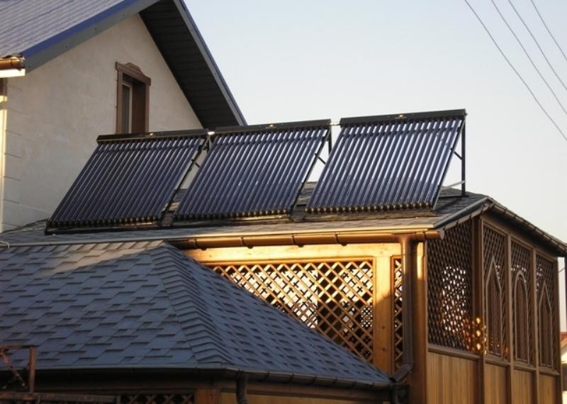 Солнечные системы для нагрева воды. Системы для вспомогательного отопления.