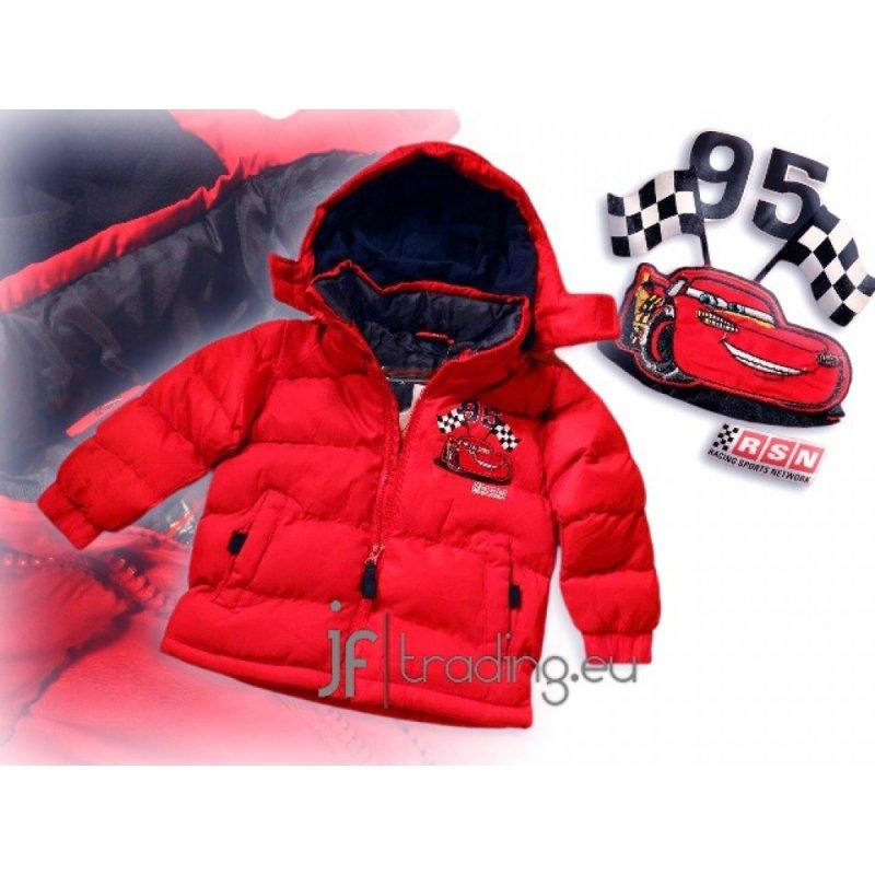 Купить Курточка зимова червона тачки