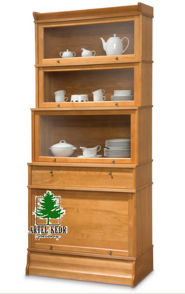 шкафы с витриной вандиксон мебель для гостиной от производителя