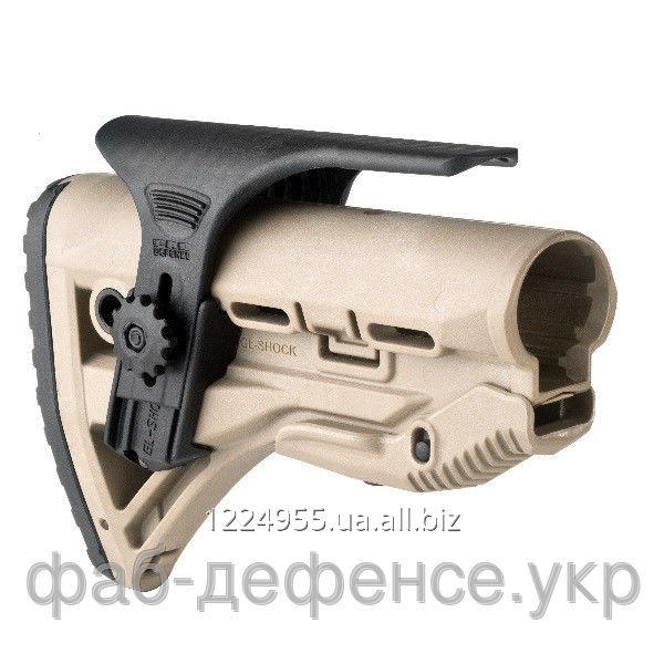 ПРИКЛАД С ПОДЩЕЧНИКОМ ДЛЯ AR15/M16/АК/САЙГА - GLR-16 CP TAN
