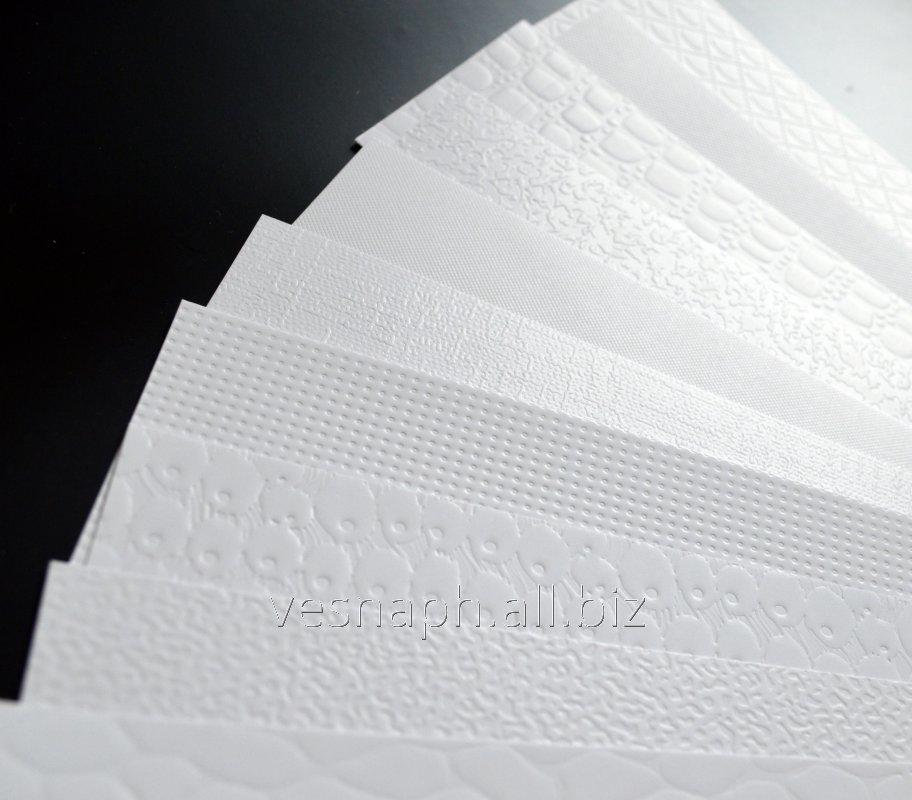 Услуги текстурирования бумаги, картона А1