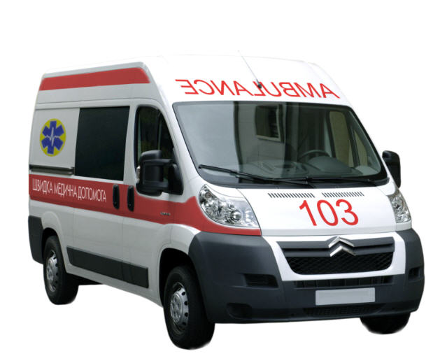Buy Emergency medical service on the basis of the Citroen Jumper car