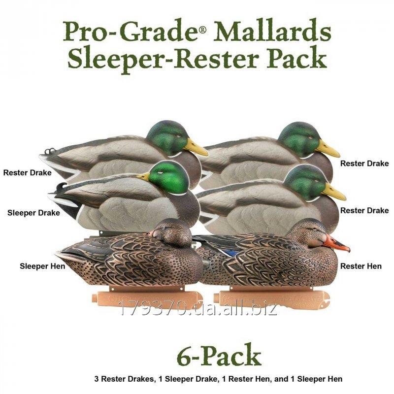 Чучела уток (кряква отдыхающая) Greenhead Gear® Pro-Grade Series™ Mallard Sleepers/Resters Pack