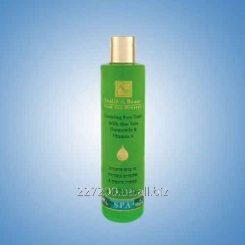 Buy The clearing face toner with an aloe belief, a camomile and Health and Beauty 250 ml vitamin A