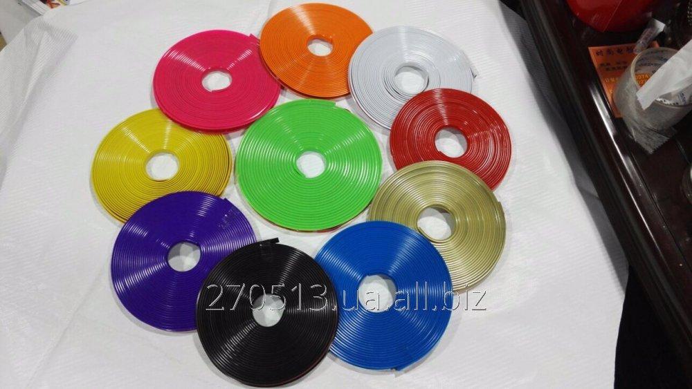 Купить Защита литых дисков силиконовой лентой