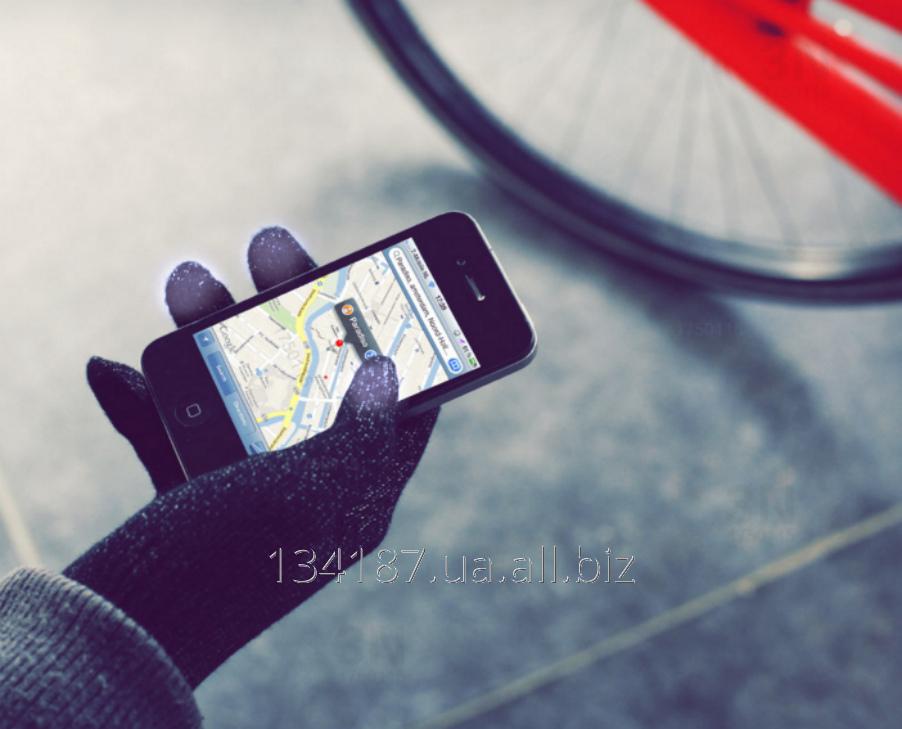 Перчатки для сенсорных экранов / Тачфон перчатки