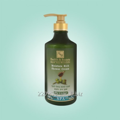 Buy The moisturizing shower cream gel with olive oil and Health and Beauty 780 ml honey