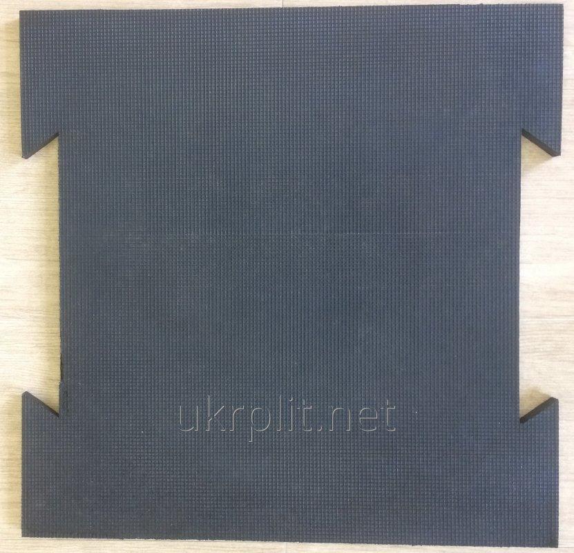Купить Грязезащитные резиновые покрытия и маты для животных 700х700 мм