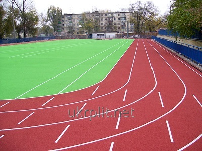 Покриття спортивні з гумової крихти