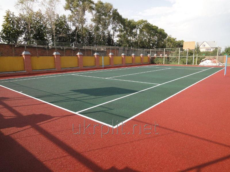 Резиновые покрытия для теннисных кортов
