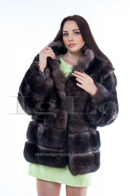 Arctic fox fur coat, Kharkiv (kodŠP001507)