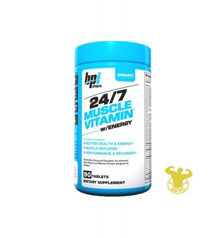 Buy BPI Sports 24/7 Muscle Vitamin Energy vitamins, 90 tablets