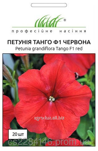 Buy Seeds of a petunia of the Tango of red 20 pieces