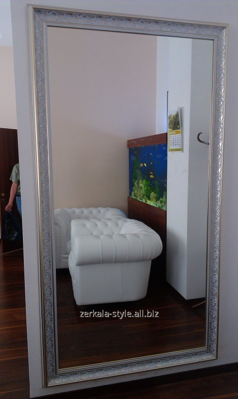 Buy Mirrors in frames for offices, apartments and other rooms.