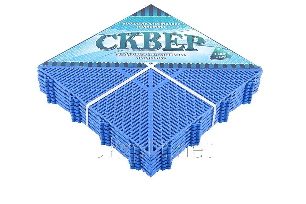 Модульное напольное покрытие для парков отдыха СКВЕР