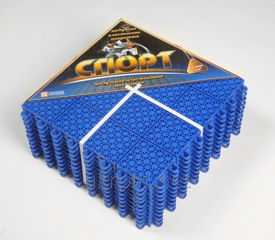 СПОРТ модульное напольное покрытие