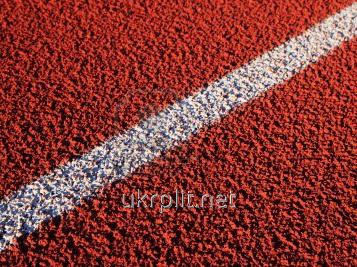 Бесшовные резиновые покрытия для теннисных площадок