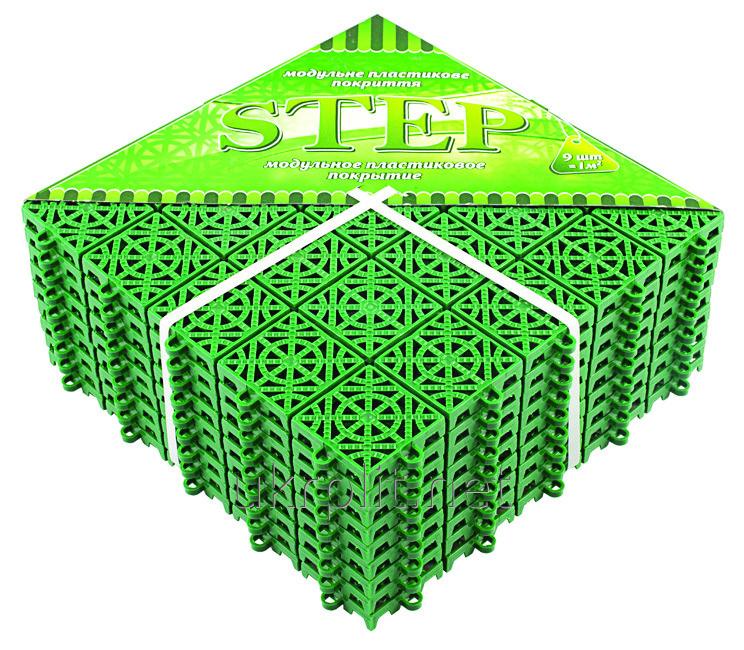 СТЕП напольное модульное покрытие 330ммх330ммх15мм
